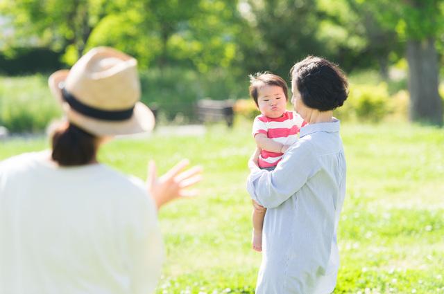 息子と娘の4人の孫。「大好き!」と言ってくれる娘の孫のほうがどうしても可愛くて...