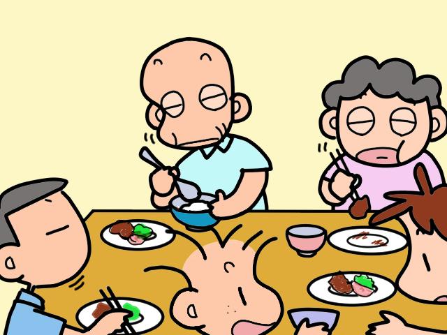 食べることは生きること。夕食は家族そろっていただきます/山田あしゅら