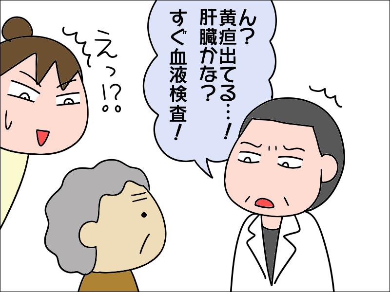 PCR検査が陰性でようやく診察へ「黄疸が出てる!すぐに入院を!」 /あぽり