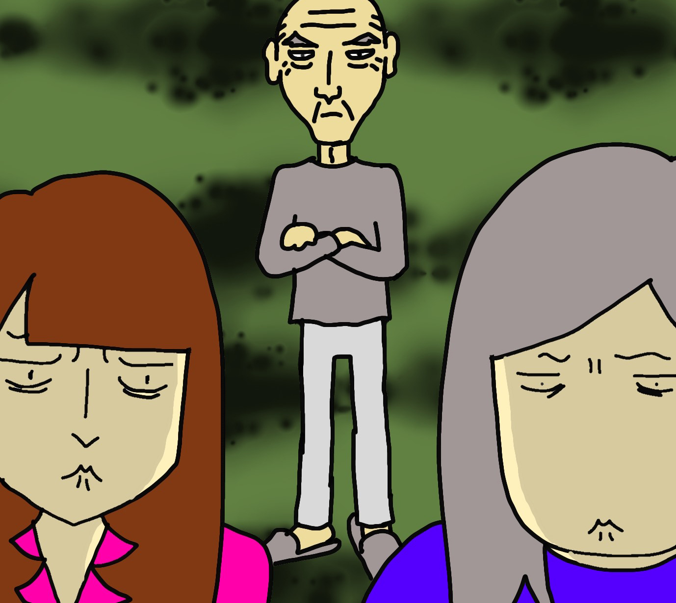 本当にうんざり...! 認知症の母の通帳を探す私たちを「後ろから監視する父」/ワフウフ