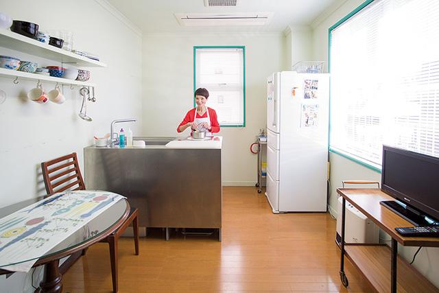 料理研究家・村上祥子さんのひとり暮らし「いまの自分サイズに合わせて模様替えします」