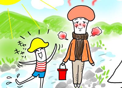 こんなに暑いのにタートルネック⁉ 真夏に厚着で熱中症→入院で認知症状が一気に加速/うちの親にかぎって!