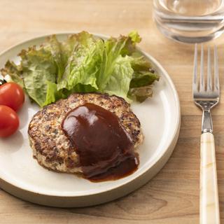 タンパク質をしっかり! 糖質オフダイエットぴったりレシピ「ビーフハンバーグ」/3Days糖質オフ