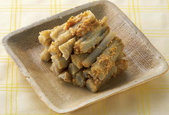 ピーマン、ごぼう、春菊で。「塩麹」を使った野菜簡単レシピ