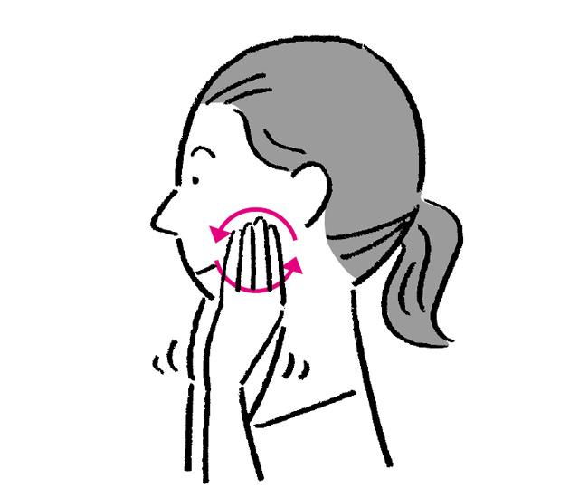「最近よくむせる...」という人はやってみて。簡単にできる「パタカラ体操」&「唾液腺マッサージ」