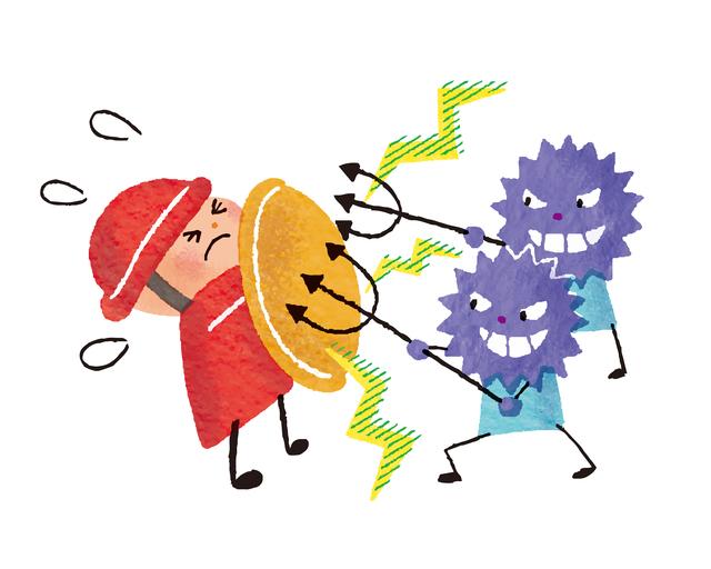 20歳から低下する「免疫力」。細胞を元気にし、免疫力アップに効果的な食品やサプリとは?