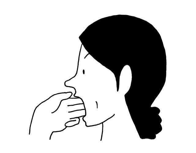 あなたは「縦にそろえた指3本」が口に入りますか?「顎関節症」の予防法