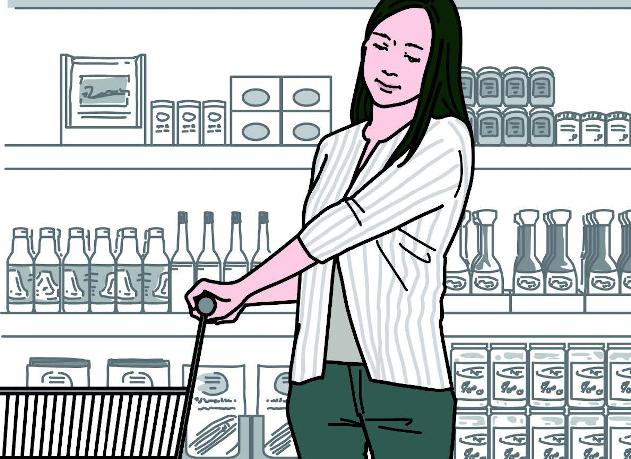 スーパーのカートで「首のシワ」防止!買い物中にできる筋膜リリース