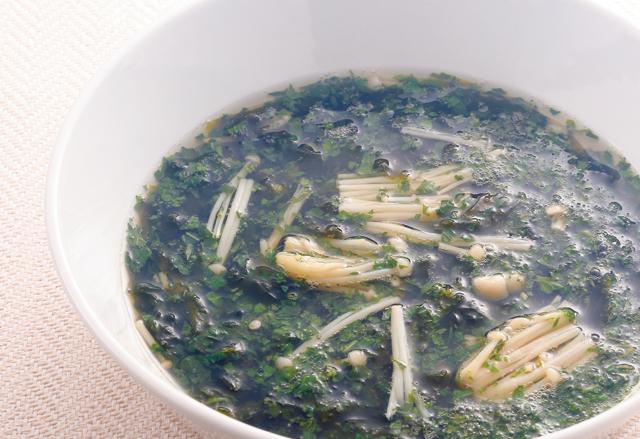 塩分の排出して血圧を下げてくれる♪「カリウムたっぷりスープ」2選