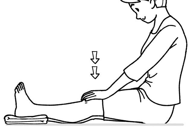 あなたは「ひざ」をキチンと伸ばせますか? 「ひざのしなり」のセルフチェック