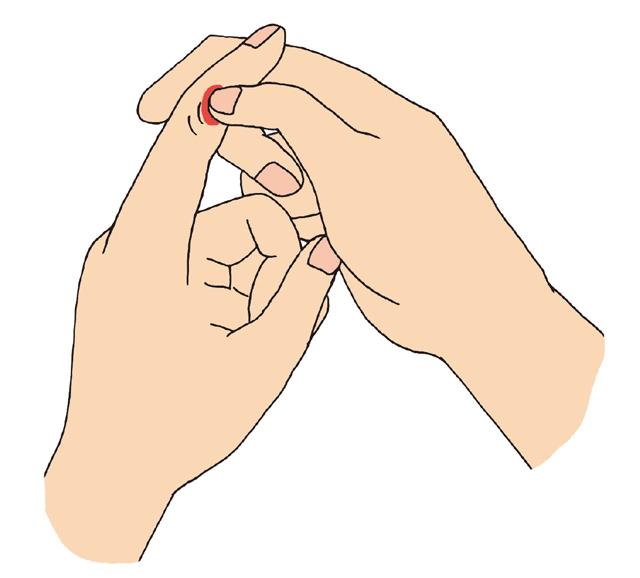 へバーデン結節にも。「指の第1関節」の10秒神経マッサージ