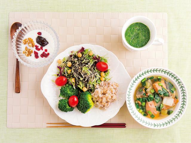 24品目もの食材を使った「朝ご飯」! 中田喜子さんの元気の源です