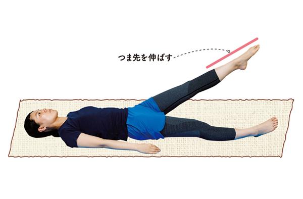 寝たまま足パタパタ!腰痛の改善に「骨盤の位置を整える」3つの体操