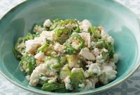 食物繊維でお腹を労わる。「オクラの白あえ」/奥薗流! 旬野菜を使ったスピード小鉢(2)