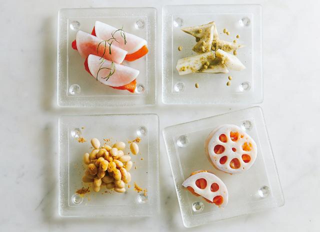 白い根菜で作る4色の惣菜。谷島せい子さんの白いピクルス(後編)