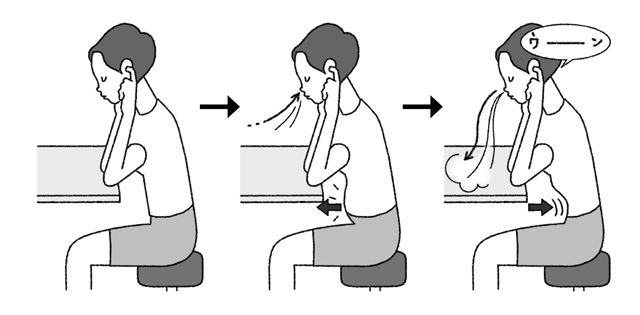 60代で急増する「加齢性難聴」予防に!「ハチの羽音呼吸法」のススメ