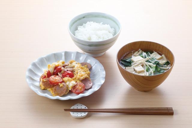 リコピン吸収率アップ! 「トマト魚肉ソーセージの卵炒め」レシピ/長生き朝ごはん(9)