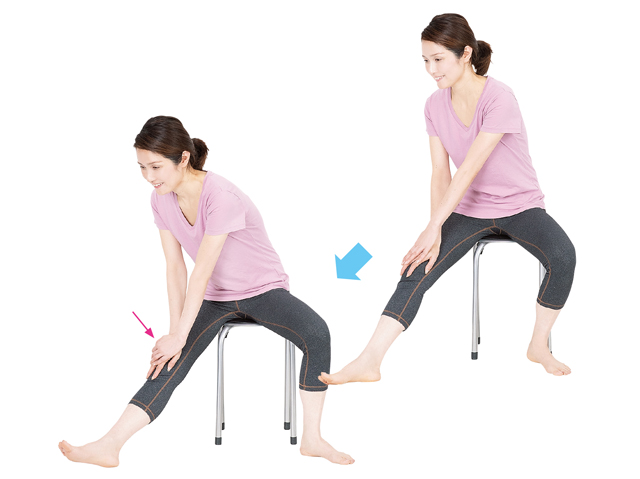 1日15分でひざの動き&新陳代謝をUP!「ひざラク体操」のススメ