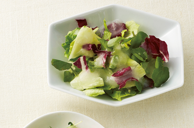 手作りのふるふる「寒天ドレッシング」で野菜をおいしく!