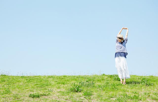 背伸び&深い呼吸で内臓機能を活性化! 基礎代謝アップ!/背伸びダイエット(2)