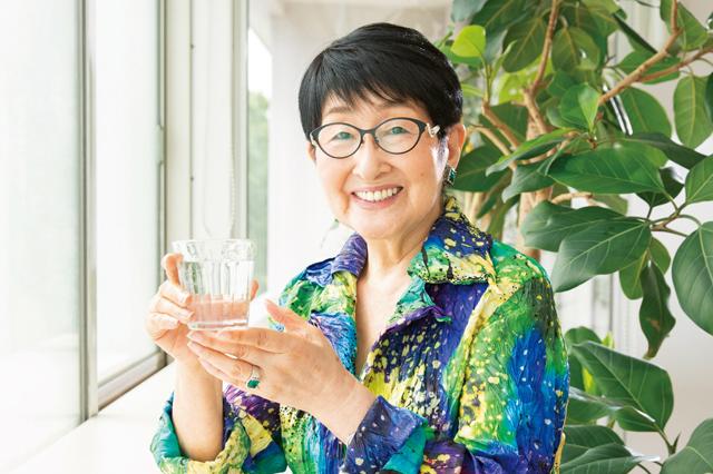 84歳の美容研究家の「一杯の水でスタートする朝の過ごし方」