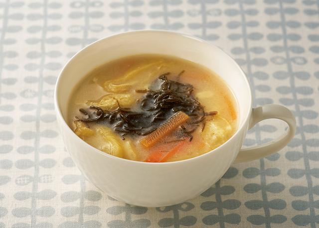 食後血糖値の上昇を抑える。「もずく」を使ったアレンジレシピ