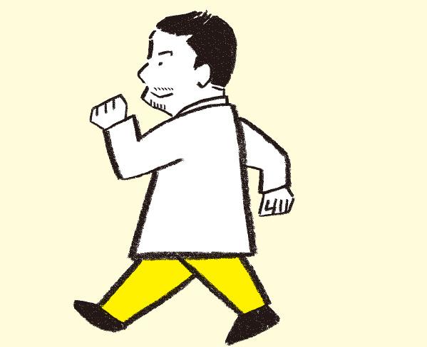 そのウォーキングは適切な運動だと言える? アスファルトを避け、前月の1.3倍を目安に歩く「正しい運動法」