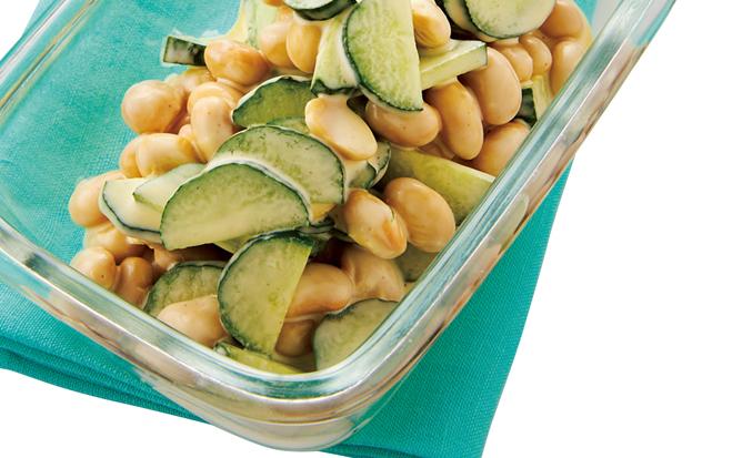 「作りおく」からおいしくなる、そしてやせる! 大豆とこんにゃくのやせ副菜