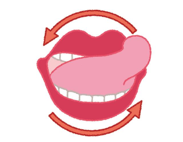 すきま時間で可能! 口内環境を整える「だ液腺マッサージ&舌の体操」/口と歯