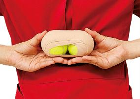 腰痛タイプに合わせて実践! テニスボールを使って簡単体操/自分で治す腰痛