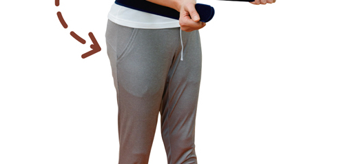 腰の骨の並びや段差を正常な位置に!「ひもひねり体操」/腰椎分離症・すべり症を体操で治す!