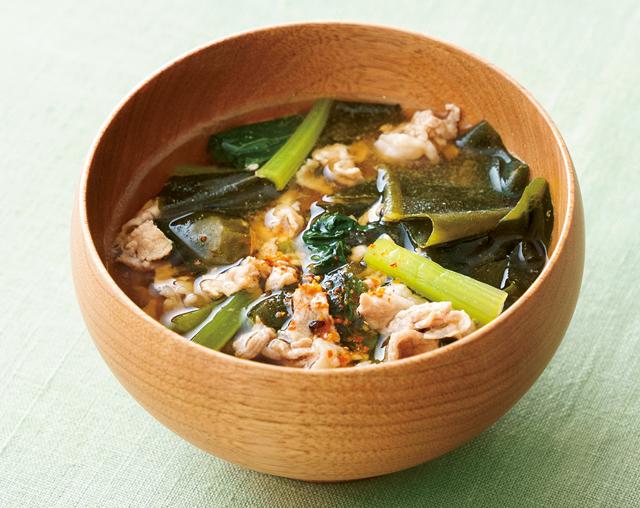 手軽に糖質オフ! 名医と管理栄養士が教える「野菜×海藻×大豆」を使った「糖尿病予防のスープ」レシピ