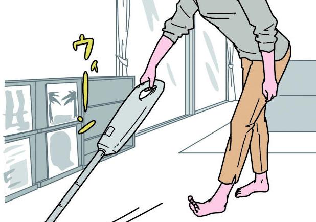 掃除&洗濯しながら筋膜リリース!家事のついで自分の「脚と肩」もお手入れ