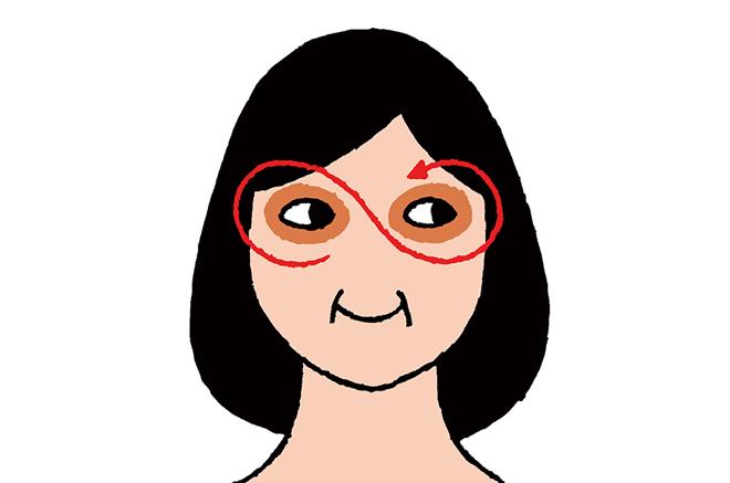 実践!目元のたるみを阻止する「眼輪筋」トレーニング/目の下のたるみ・くま