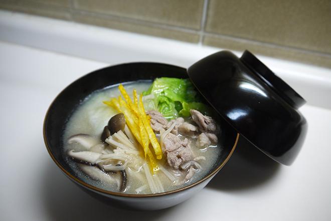 美味しく高血圧対策! 減塩スープで気持ちもお腹も満たされる昼食を【作ってみた】/キョンキョンうさぎ