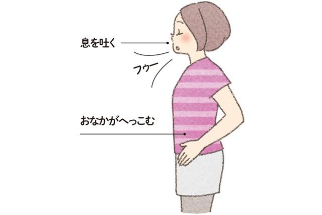 慢性頭痛に悩む人に。横隔膜を動かす「息を吐き切る腹式呼吸」のススメ/頭痛さよなら体操(3)