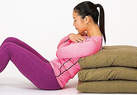 筋肉減少をSTOP!超カンタン「おなかの貯筋運動」