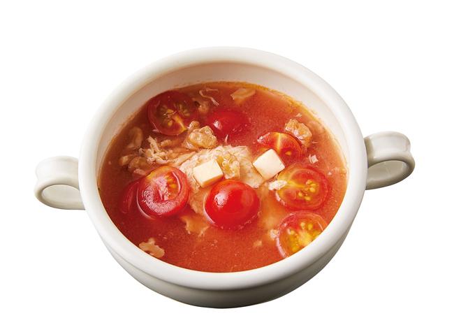 アレンジ次第で「酸辣湯」風にも! やせるおかず「トマトとチーズのマリネ」