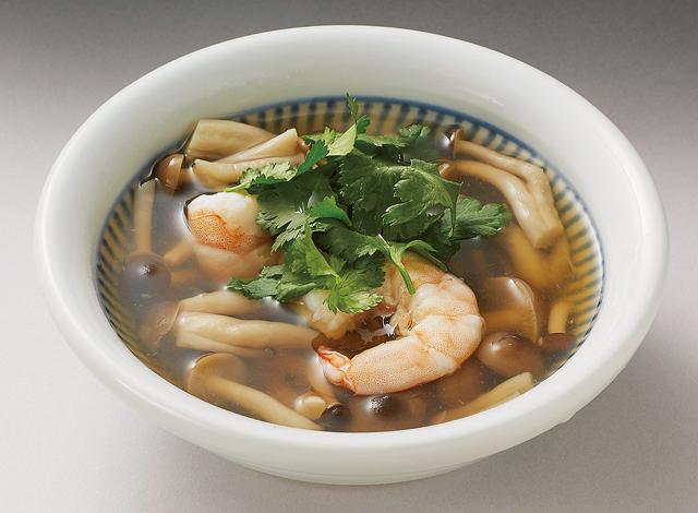 汁物にも寒天を使えば、食物繊維たっぷり&満腹感アップ!