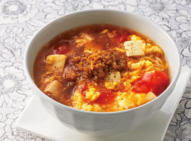 「みじん切り酢しょうが」で作る! 元気がでる「酸辣湯麺」レシピ/しょうが生活
