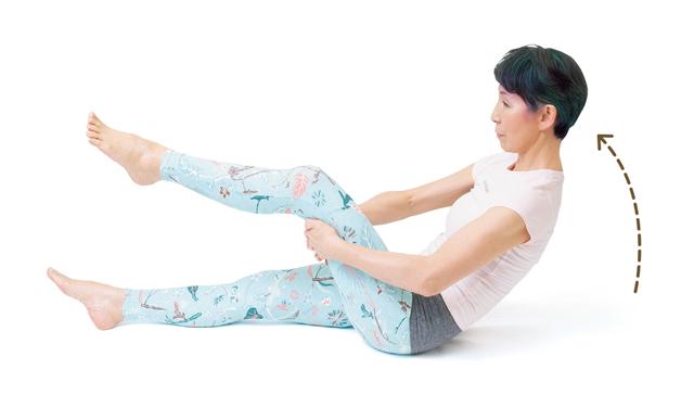 ポッコリ下腹を解消! 姿勢改善と腰痛予防にも「寝たままラクラク腹筋」