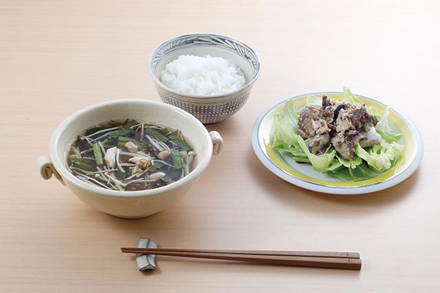 【レシピ】目覚めにこの酸味が・・・うまっ!「もずくのスープ」/長生き朝ごはん(8)