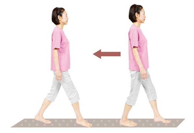 たった10歩でわかります!「正しく歩けているか」2つのテスト