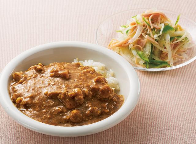 酢+キウイ+納豆!腸がよろこぶ「爽やかカレー」レシピ