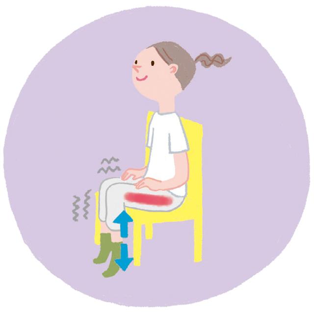 認知症の予防には、まず太ももの表側「大腿四頭筋」を鍛える! 継続することが大事!