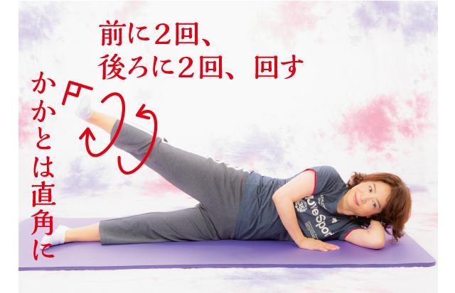 脚のむくみがすっきり!女優・中田喜子さんが10年続ける「寝る前ストレッチ」