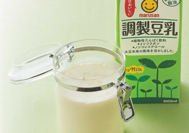 花粉症予防にも効く! 豆乳ヨーグルトで腸内環境を整えましょう