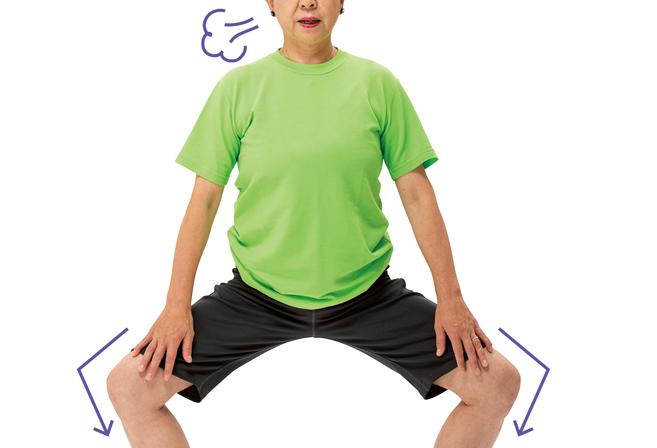 ほぐすことで脚がグンと軽くなる。脚と太ももの体操に取り組みましょう/体ほぐし体操