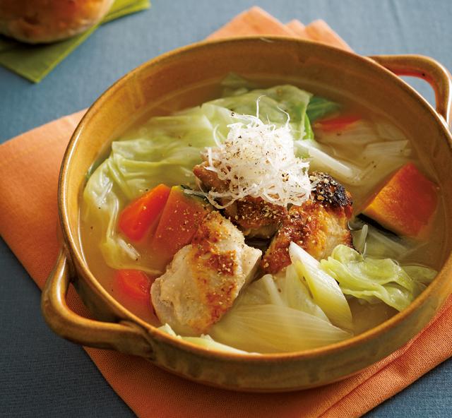 冬は絶好の減塩季節! 冬野菜で「あったかスープ」レシピ/減塩メニュー(1)