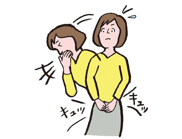 しゃがんで「くしゃみ」はNG! 日常生活で「尿漏れ」を改善する8つのコツ